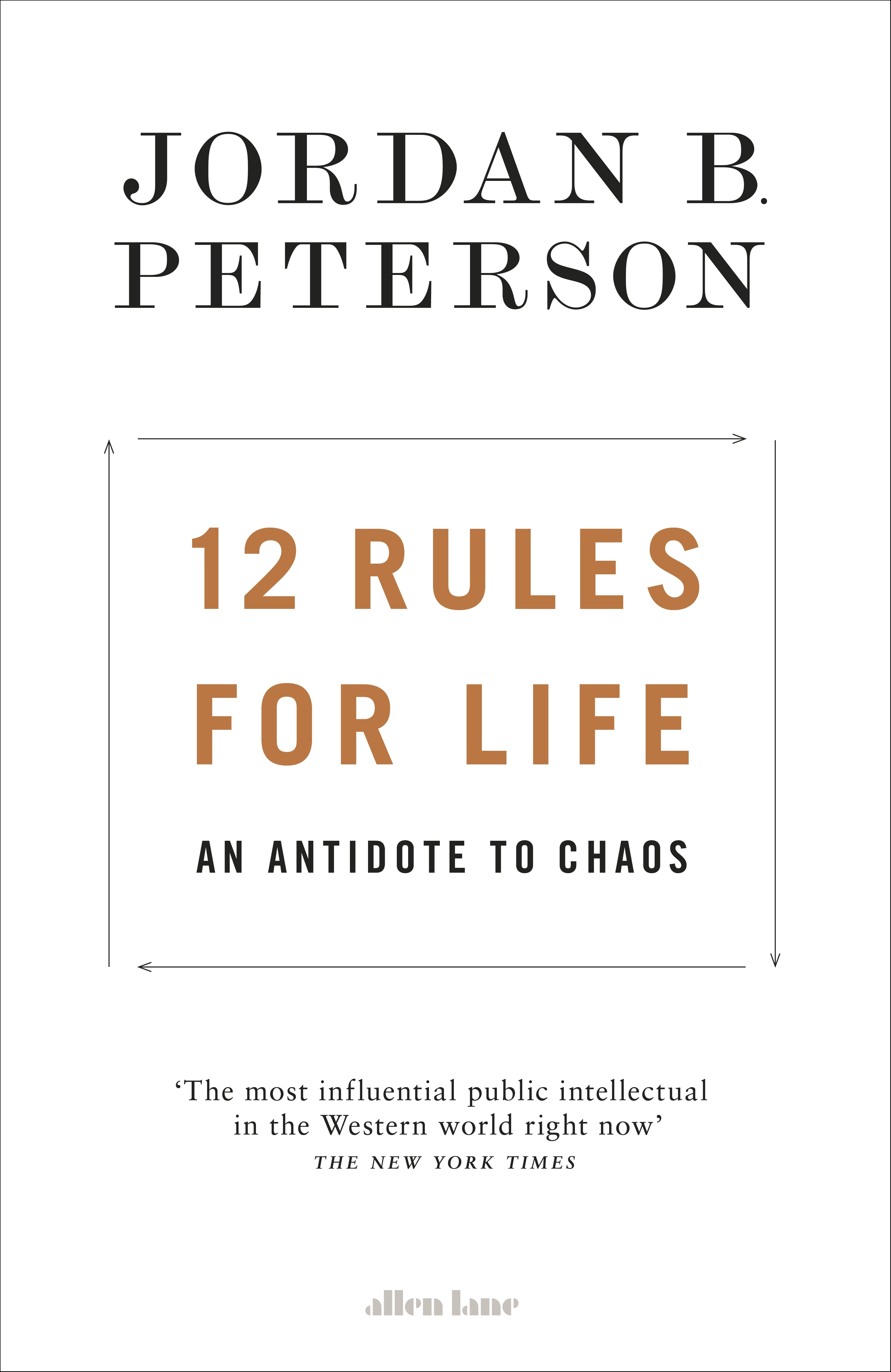 12 Rules for Life by Jordan B. Peterson, ISBN: 9780241351635
