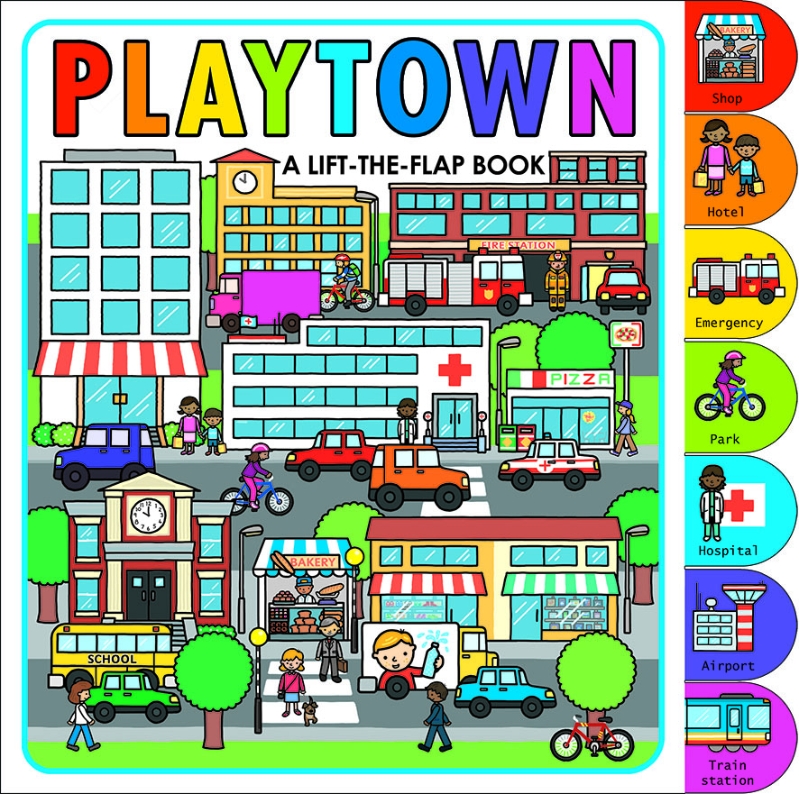 Playtown (Lift the Flap Book) by Roger Priddy, ISBN: 9781783410507