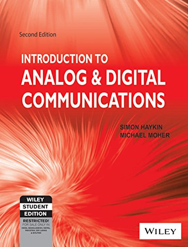 INTRODUCTION TO ANALOG AND DIGITAL COMMUNICATIONS 2ND EDITION 2ND EDITION