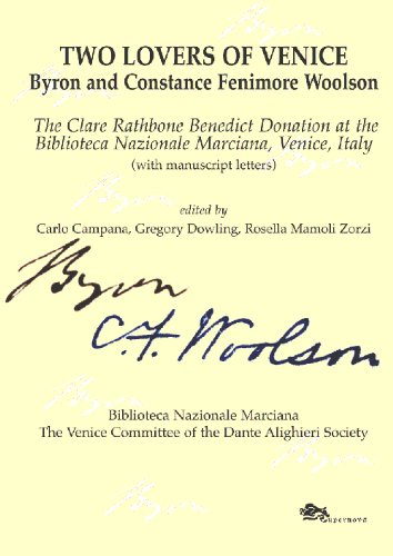 Two lovers of Venice. Byron and Constance Fenimore Woolson