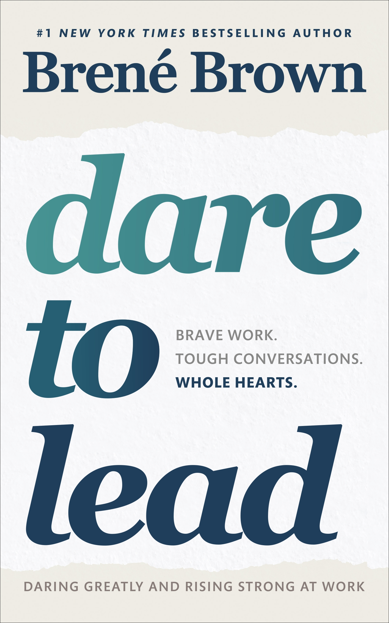 Dare to Lead by Brené Brown, ISBN: 9781785042140
