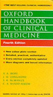 Oxford Handbook of Clinical Medicine (4th Edition) by R.A. Hope, ISBN: 9780192627834