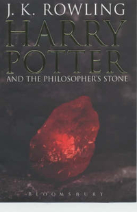 Cover Art for Harry Potter and the Philosopher's Stone (Adult edition), ISBN: 9780747573609