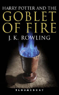 Harry Potter and the Goblet of Fire A-format adult edition