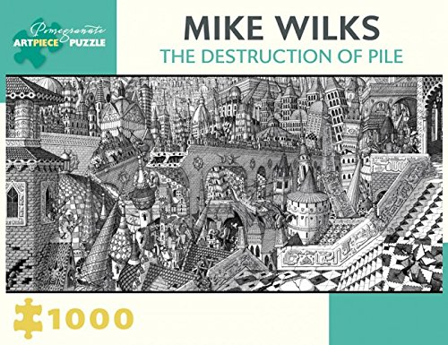 Mike WilksThe Destruction of Pile 1000-Piece Jigsaw Puzzle