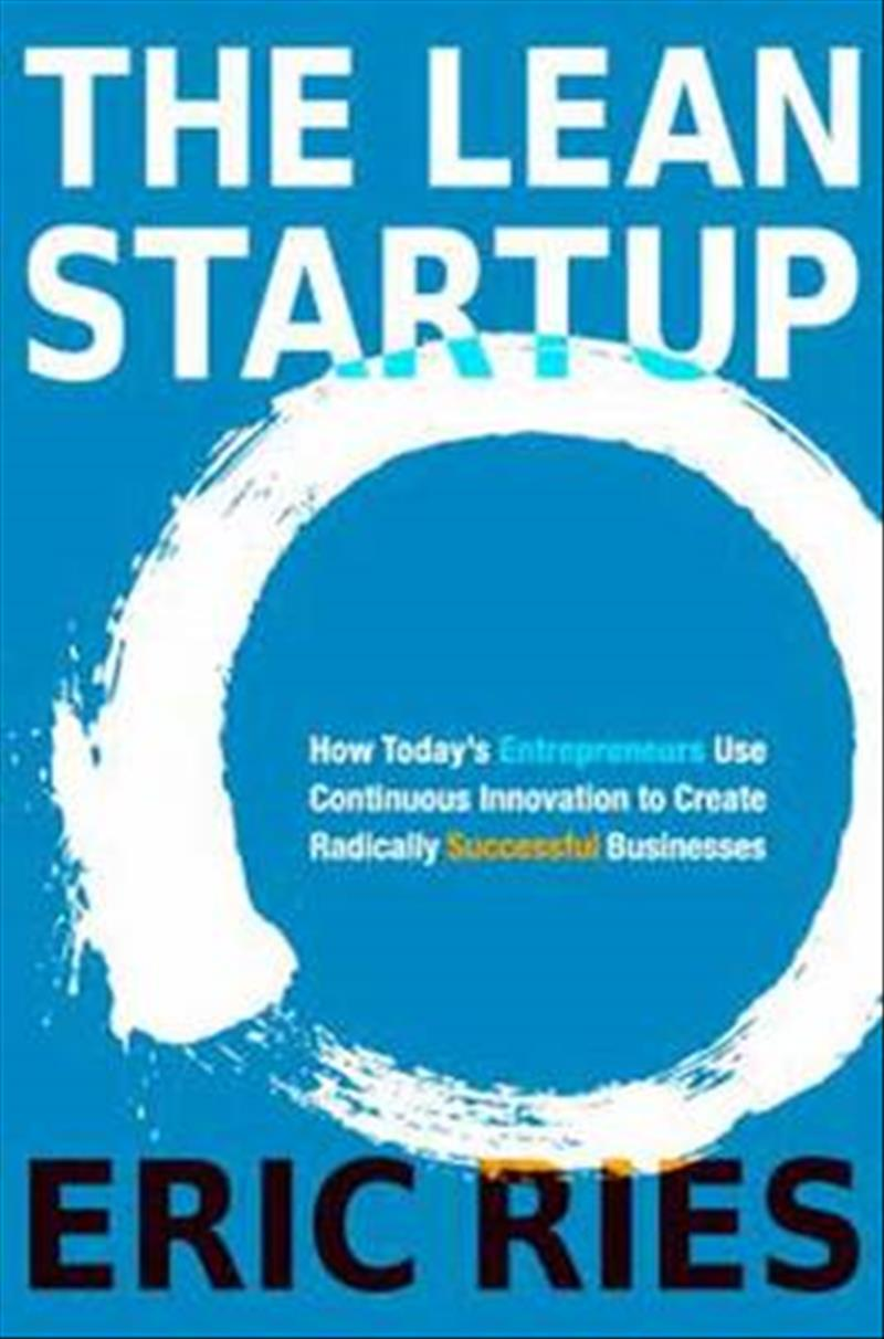 The Lean Startup by Eric Ries, ISBN: 9780307887894