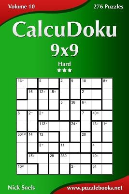 Calcudoku 9x9 - Hard - Volume 10 - 276 Puzzles