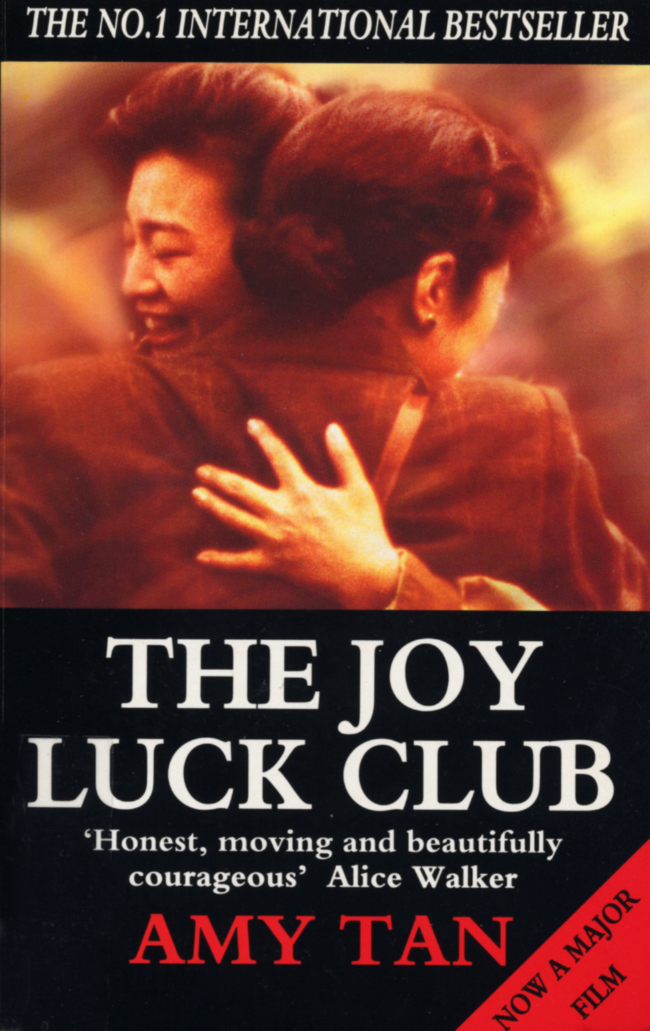 an analysis of the joy luck club a movie based on a book by amy tan Free study guide: the joy luck club by amy tan - booknotes by the beginning of the novel, suyuan has passed away, but her presence throughout the book is incredibly strong as the founding member of both the chinese and the san francisco branches of the joy luck club, suyuan is the.