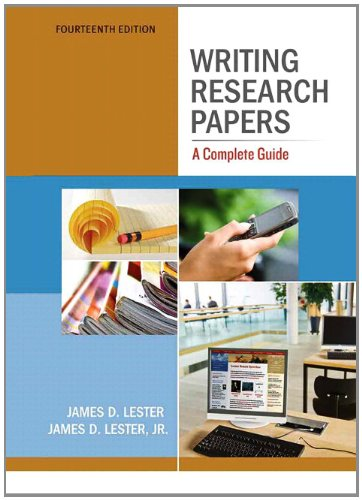 guidelines to writing a research paper