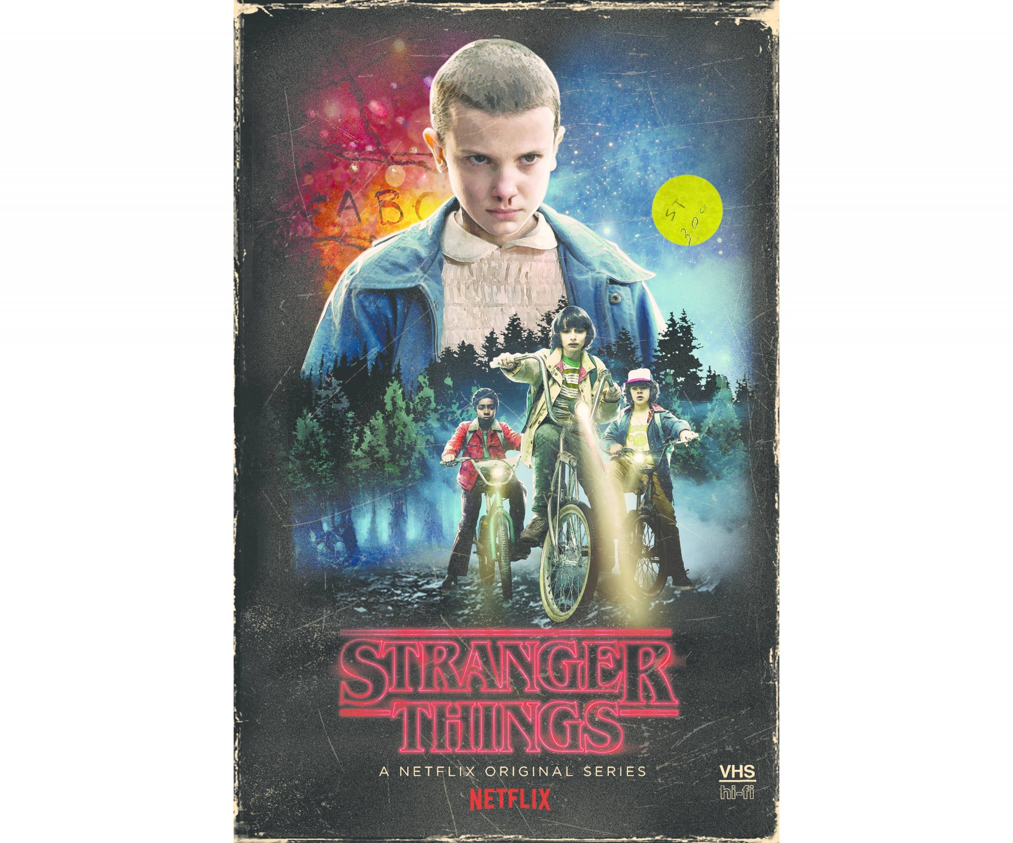 Stranger Things Season 1 4-disc DVD / Blu-Ray Collector's Edition Box Set (Exclusive VHS Box Style Packaging)