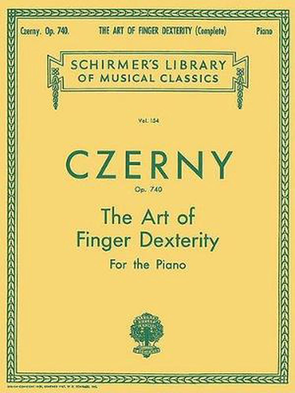 Art of Finger Dexterity, Op. 740 (Complete): Piano Technique