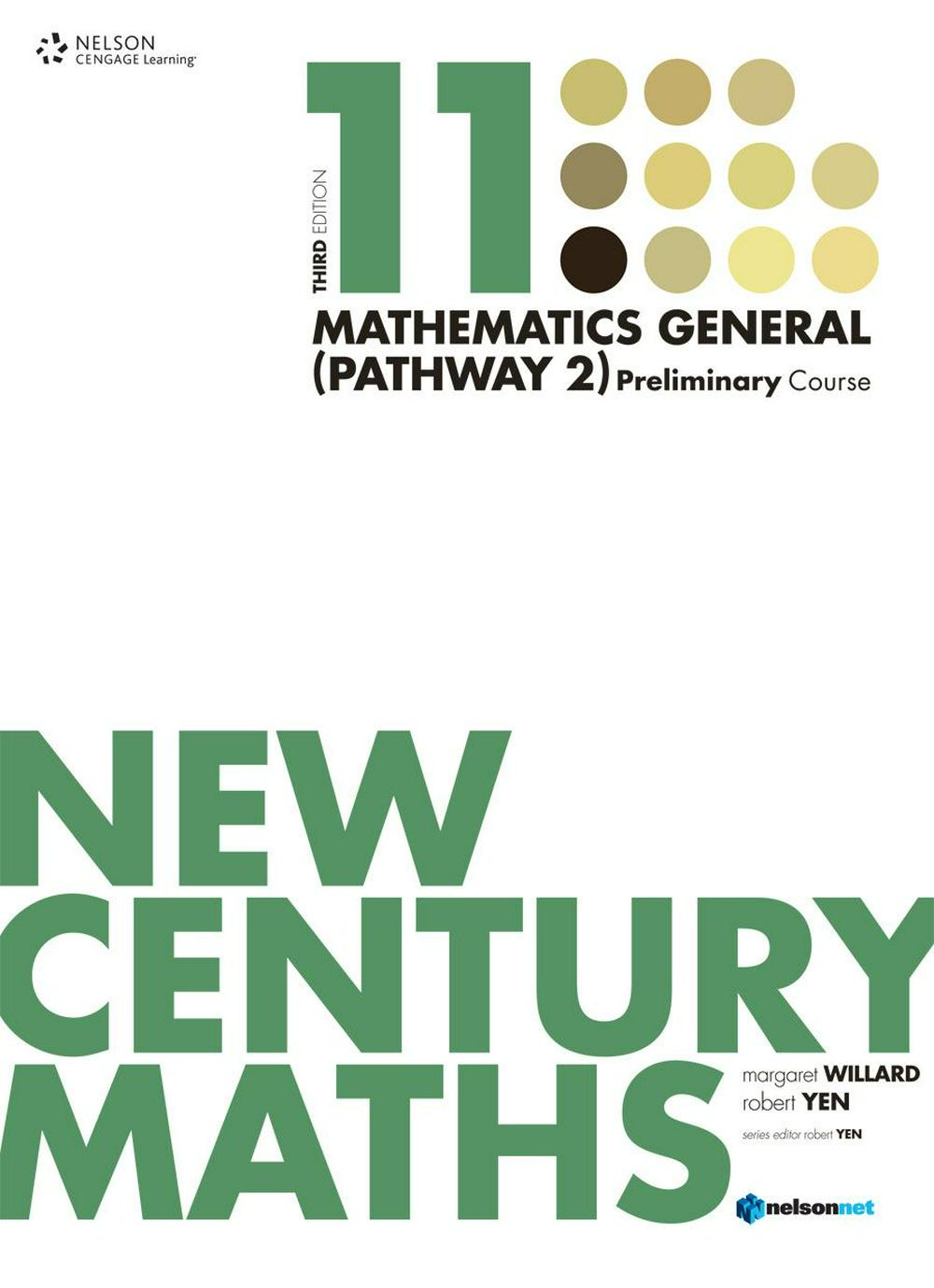 New Century Maths 11 Mathematics General (Pathway 2): Preliminary Course - Student Book
