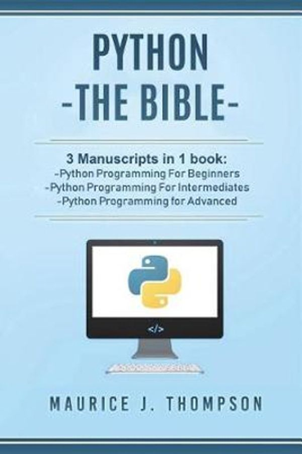 Booko: Comparing prices for Python: - The Bible- 3