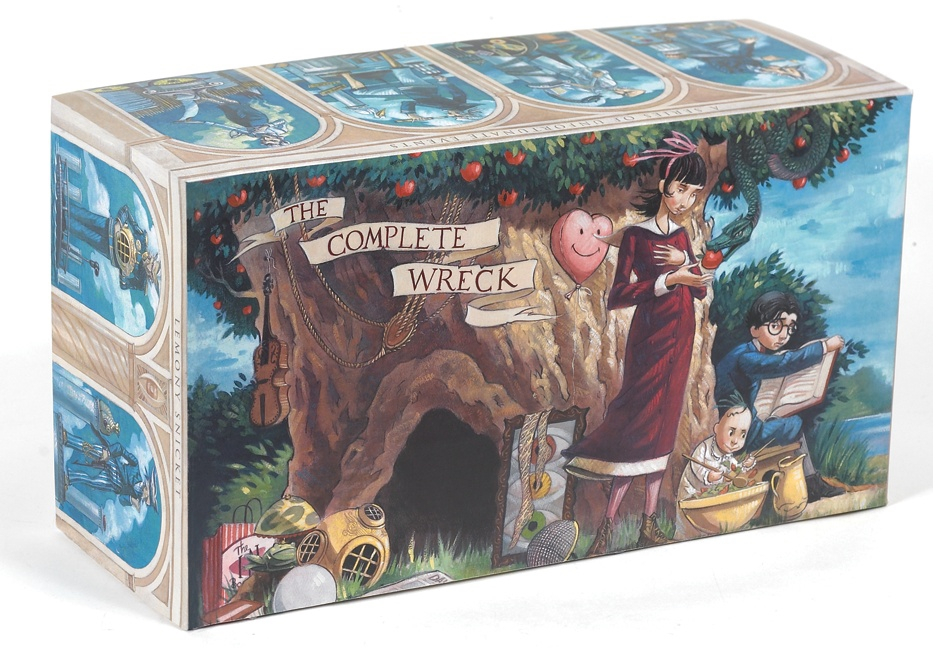 A Series of Unfortunate Events Box: The Complete Wreck (Books 1-13) by Lemony Snicket, ISBN: 9780061119064
