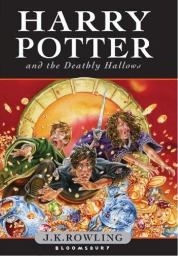 Cover Art for HARRY POTTER 7 - THE DEATHLY HALLOWS Pback, ISBN: 9780747595861