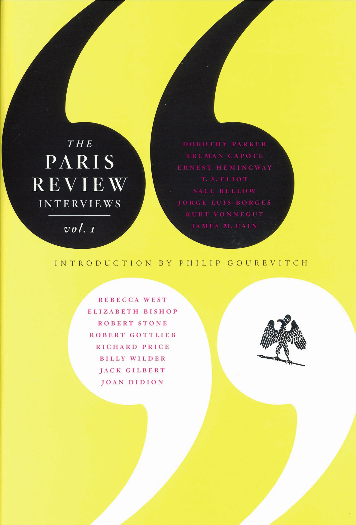 Paris Review Interviews V1