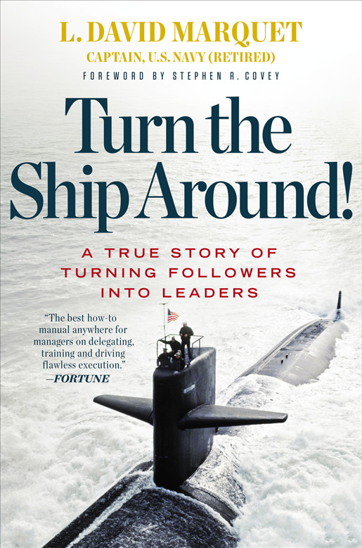 Cover Art for Turn the Ship Around!, ISBN: 9781101623695