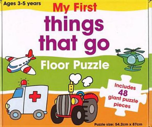 Things That Go Floor Puzzle