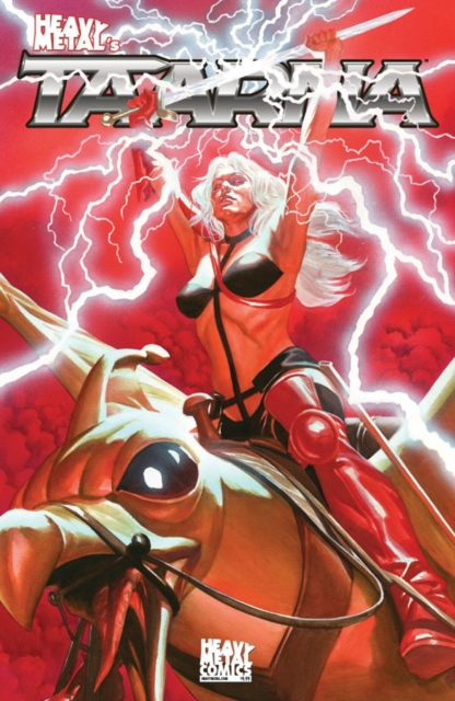 Taarna Volume 1Alex Ross Cover