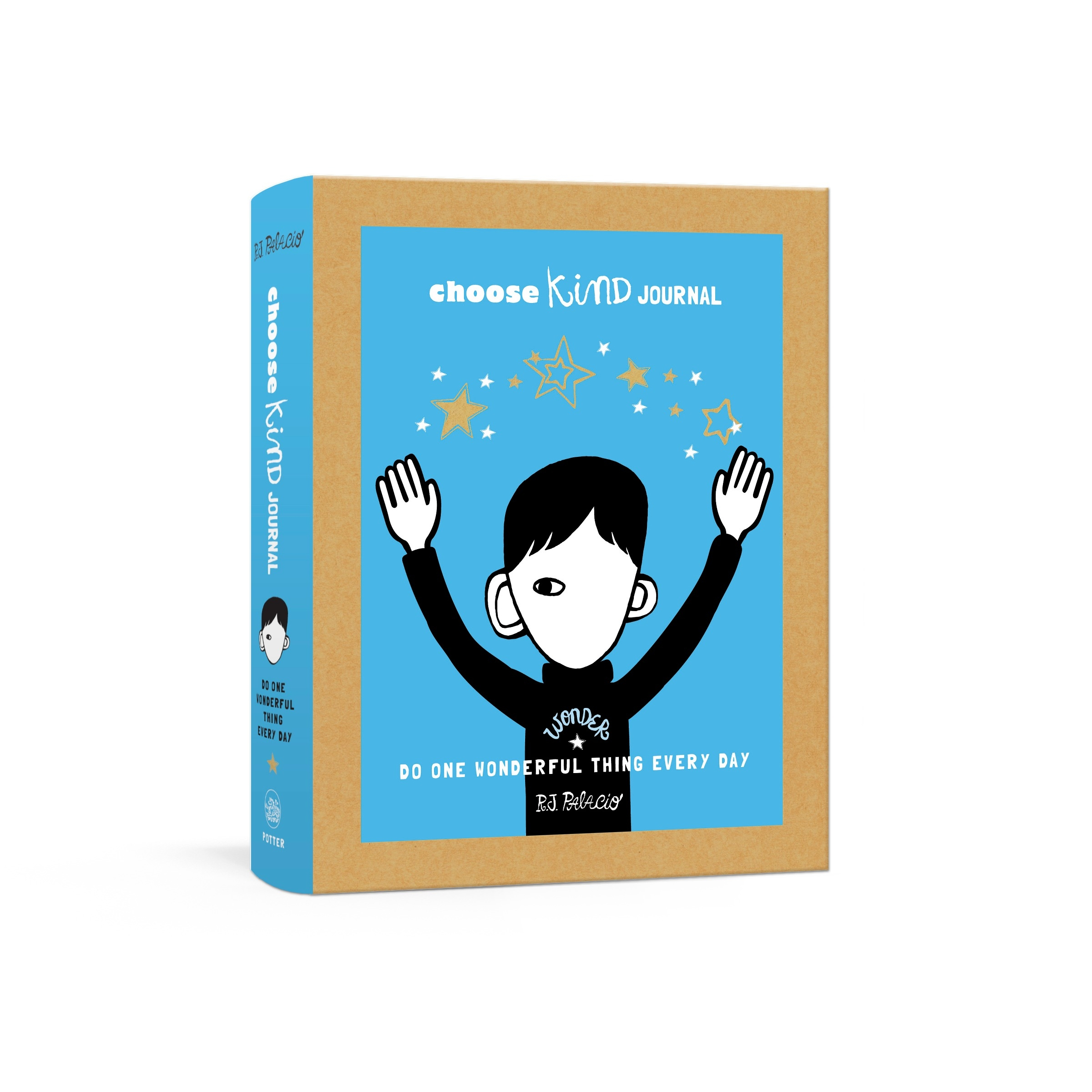 Choose Kind Journal: Do One Wonderful Thing Every Day (Wonder Journal) by R. J. Palacio, ISBN: 9781524759421