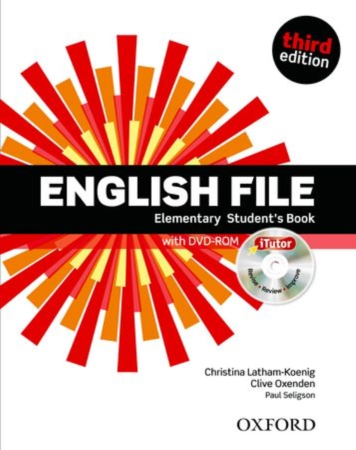 English File: Elementary: Student's Book with iTutor by Clive OxendenChristina Latham-KoenigPaul Seligson, ISBN: 9780194598644