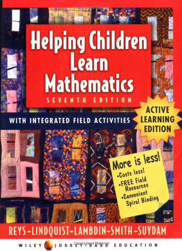 Helping Children Learn Mathematics: Active Learning Edition