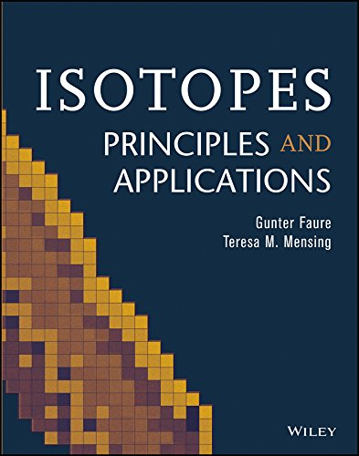 Isotopes: Principles And Applications (Pb 2013)