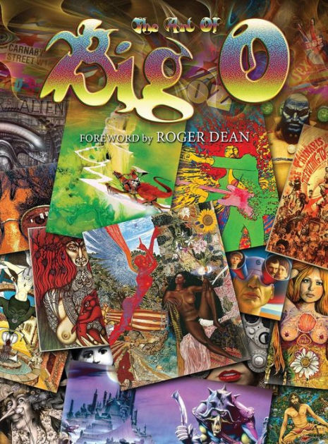 The Art Of Big O: Foreword by Roger Dean - Hardcover