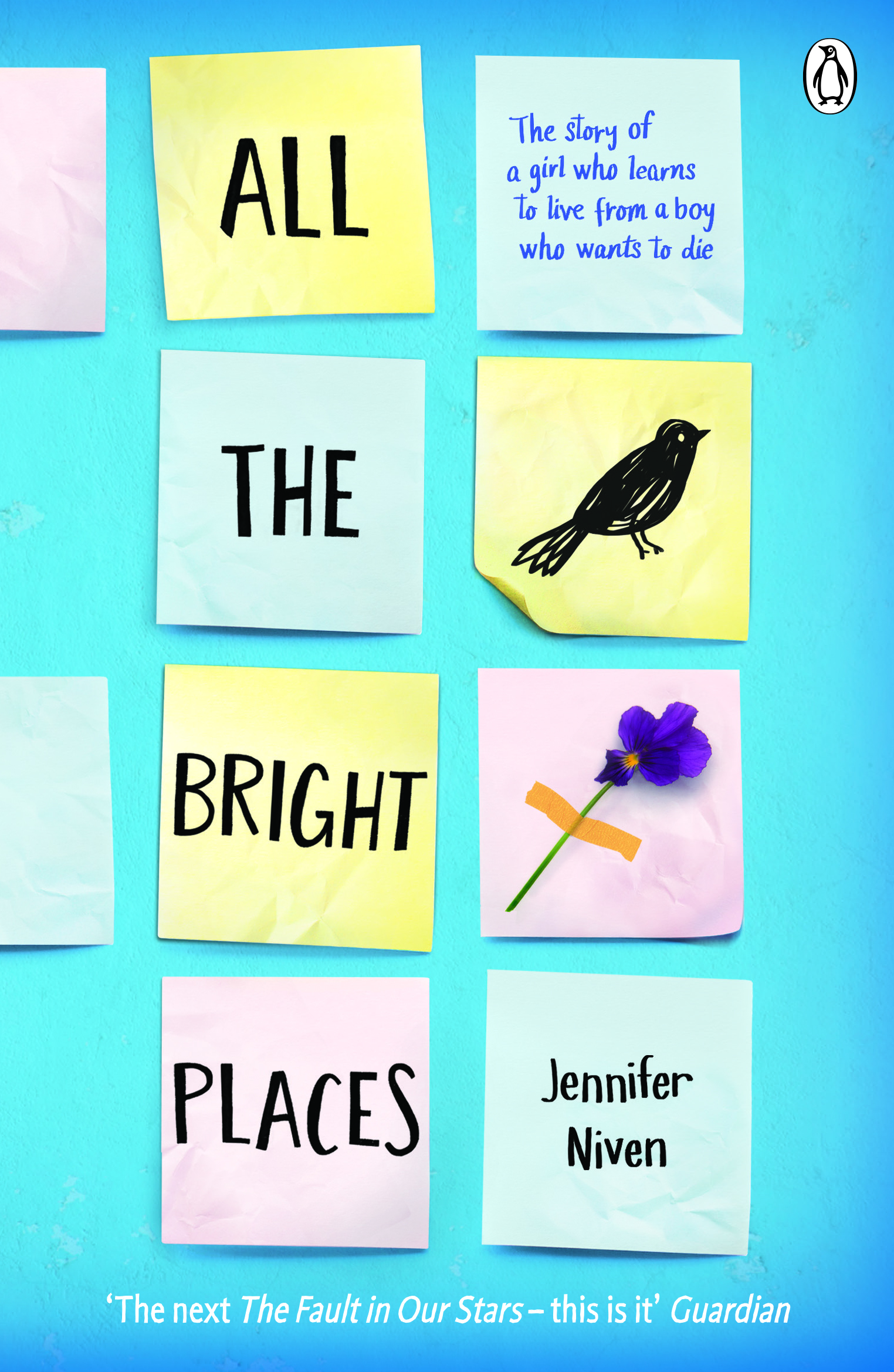 Cover Art for All the Bright Places, ISBN: 9780141357034
