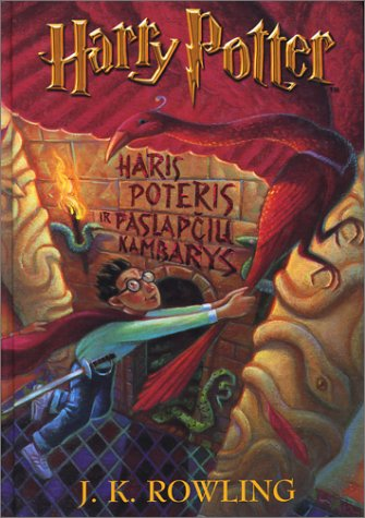 Haris Poteris ir Paslapciu Kambarys (Lithuanian edition of Harry Potter and the Chamber of Secrets)