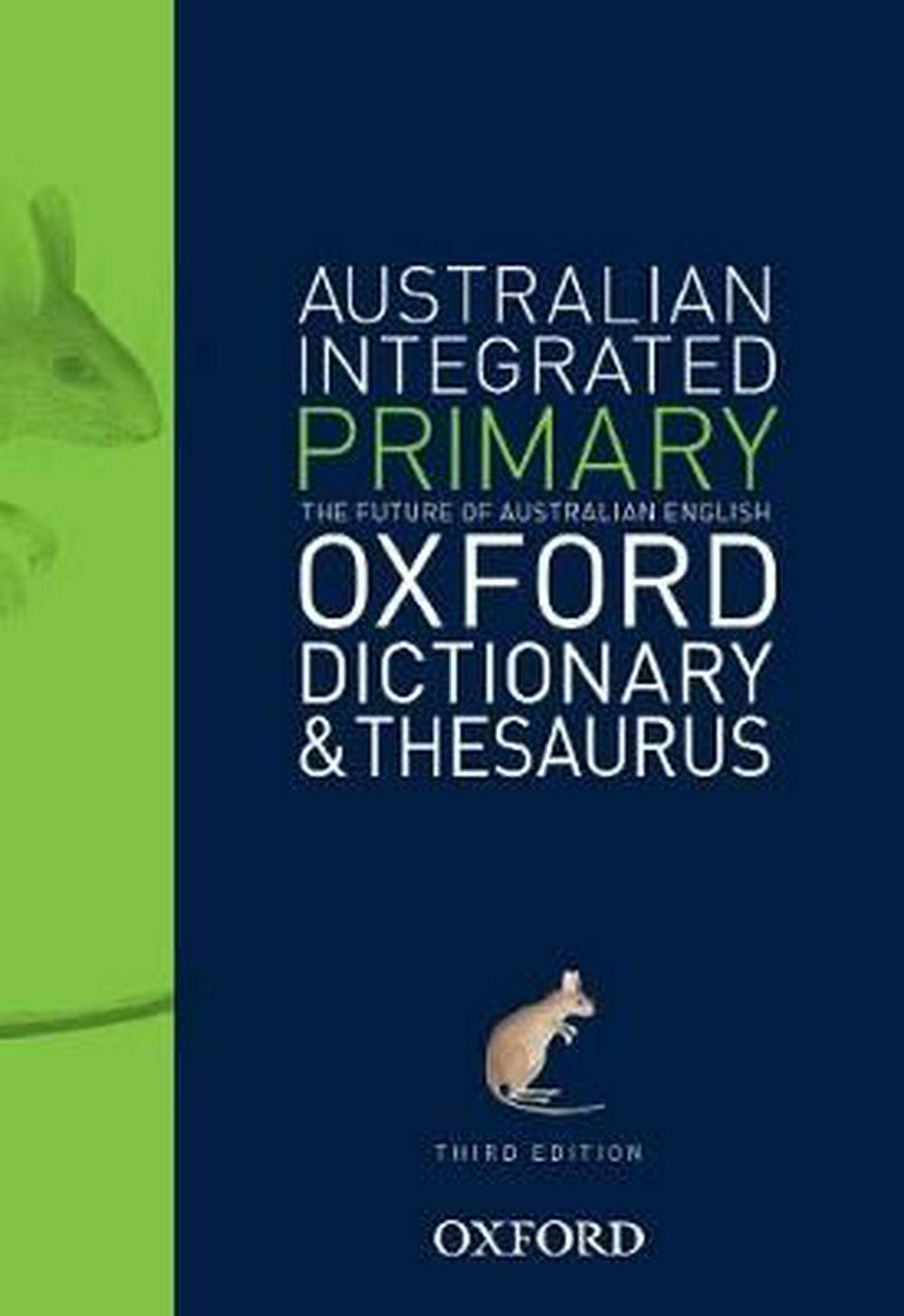 Australian Integrated Primary Oxford Dictionary and Thesaurus