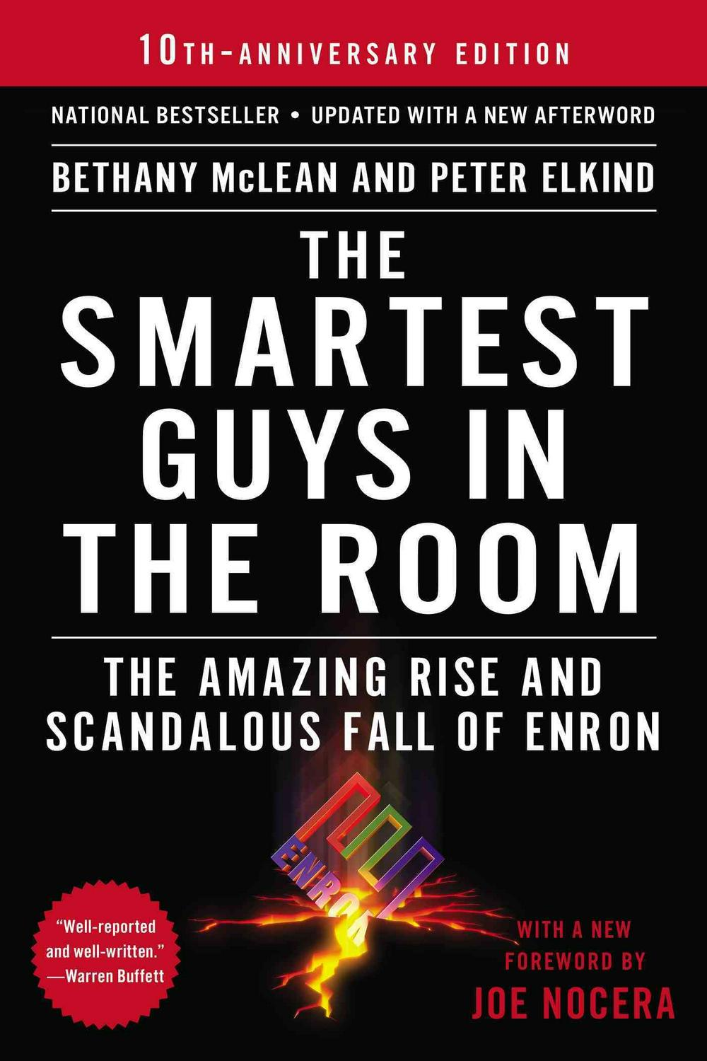 The Smartest Guys in the Room by Bethany McLean, ISBN: 9781591846604
