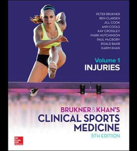 EBOOK BRUKNER & KHAN'S CLINICAL SPORTS MEDICINE: INJURIES, VOL. 1 by Brukner & Khan, ISBN: 9781743769263