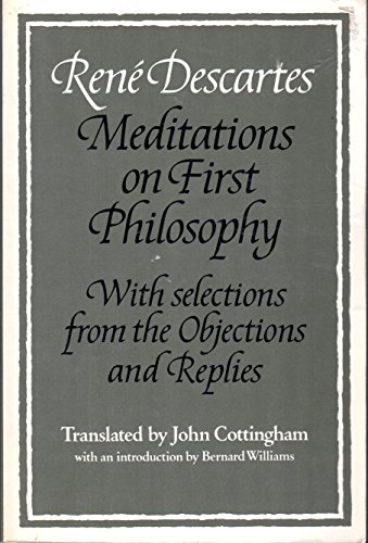 a look at the overall objective of meditations by descartes A summary of third meditation  of god and the cartesian circle in rene descartes's meditations on first philosophy has infinite objective reality.