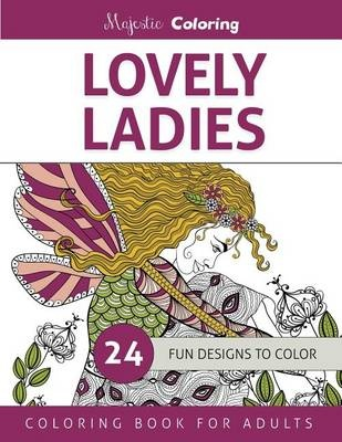 Lovely LadiesColoring Book for Adults
