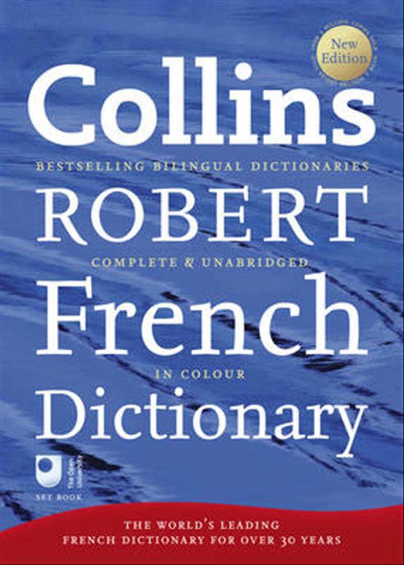 Collins Robert French Dictionary: Complete and Unabridged