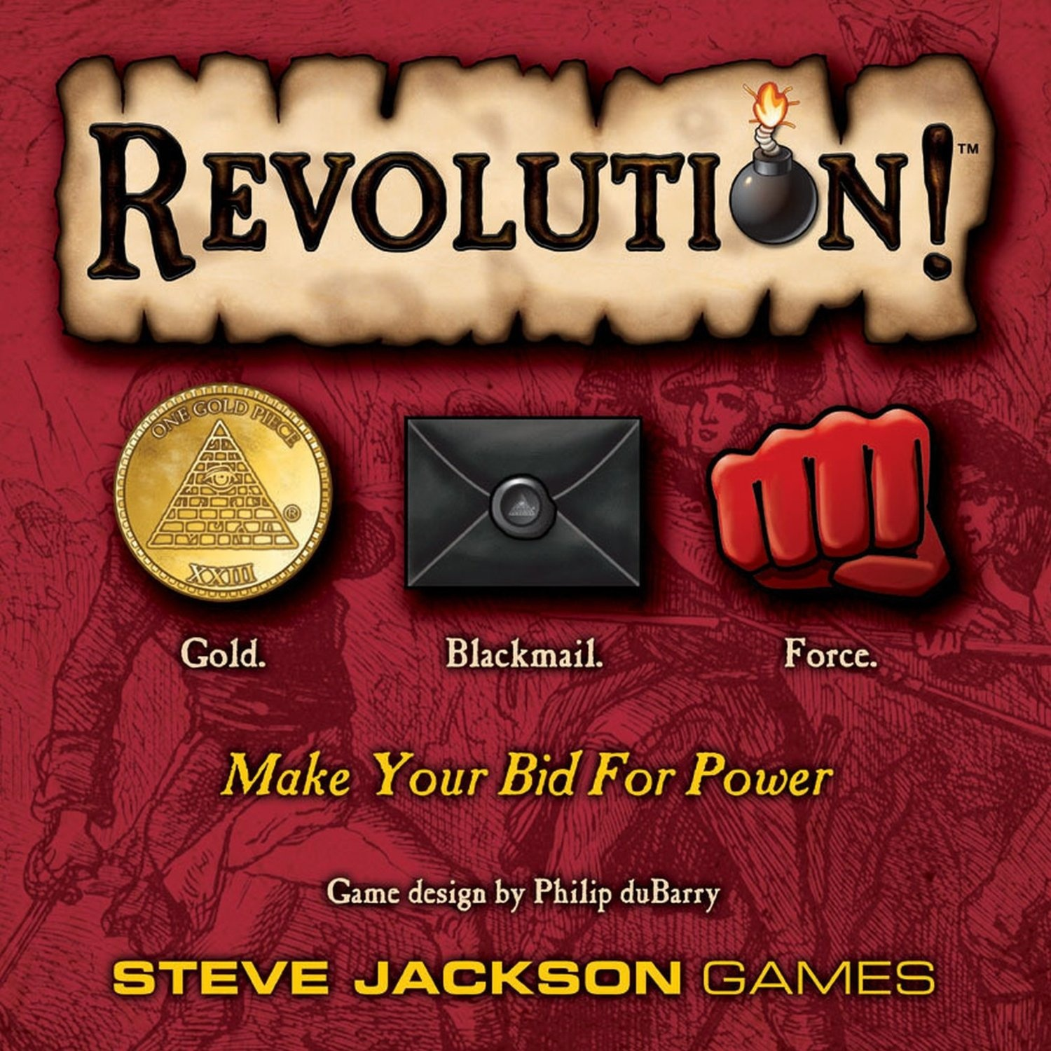 Revolution! Board Game