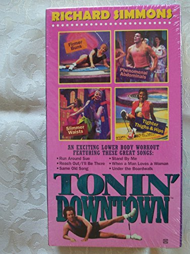RICHARD SIMMONS TONING DOWNTOWN VHS **BRAND NEW - FACTORY SEALED**