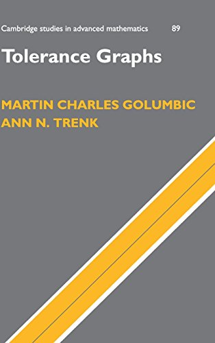 Tolerance Graphs by M.C. Golumbic, ISBN: 9780521827584
