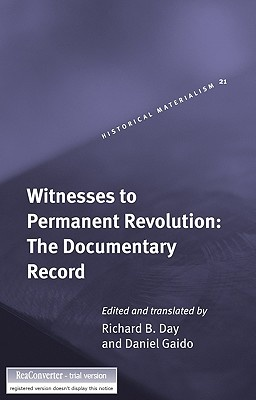 Witnesses to Permanent Revolution