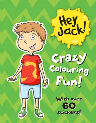 Hey Jack Super Dooper Sticker Book