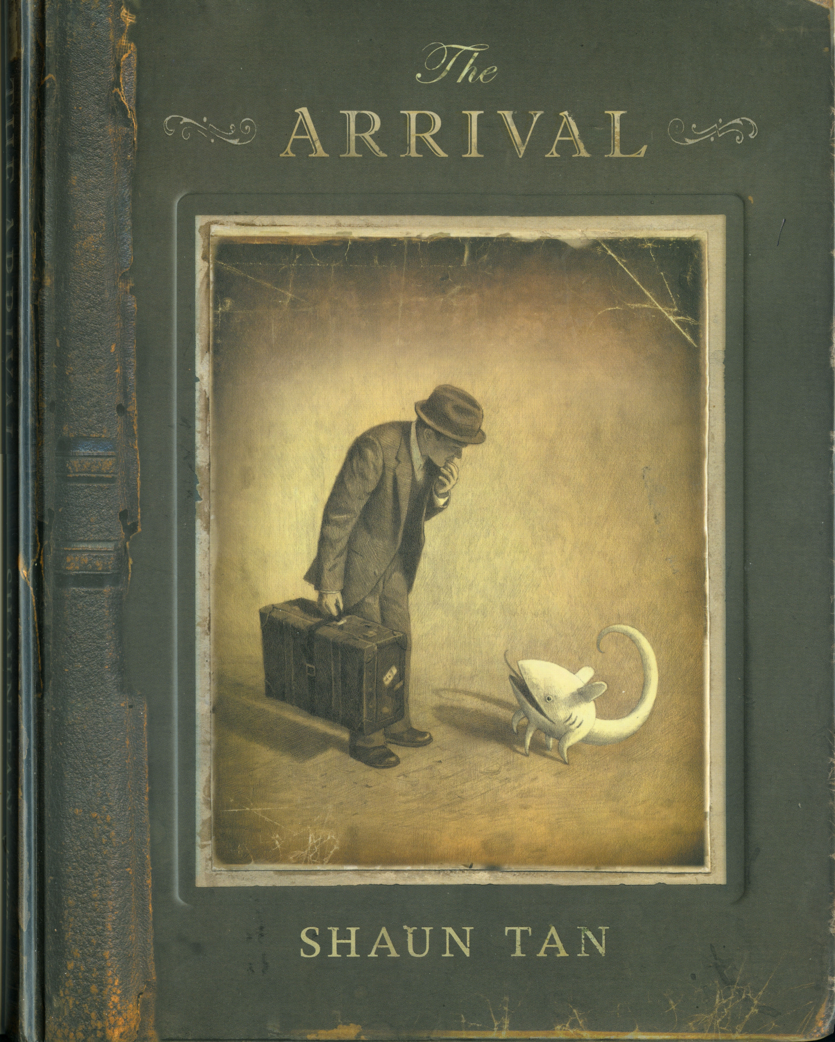 Cover Art for The Arrival, ISBN: 9780734415868