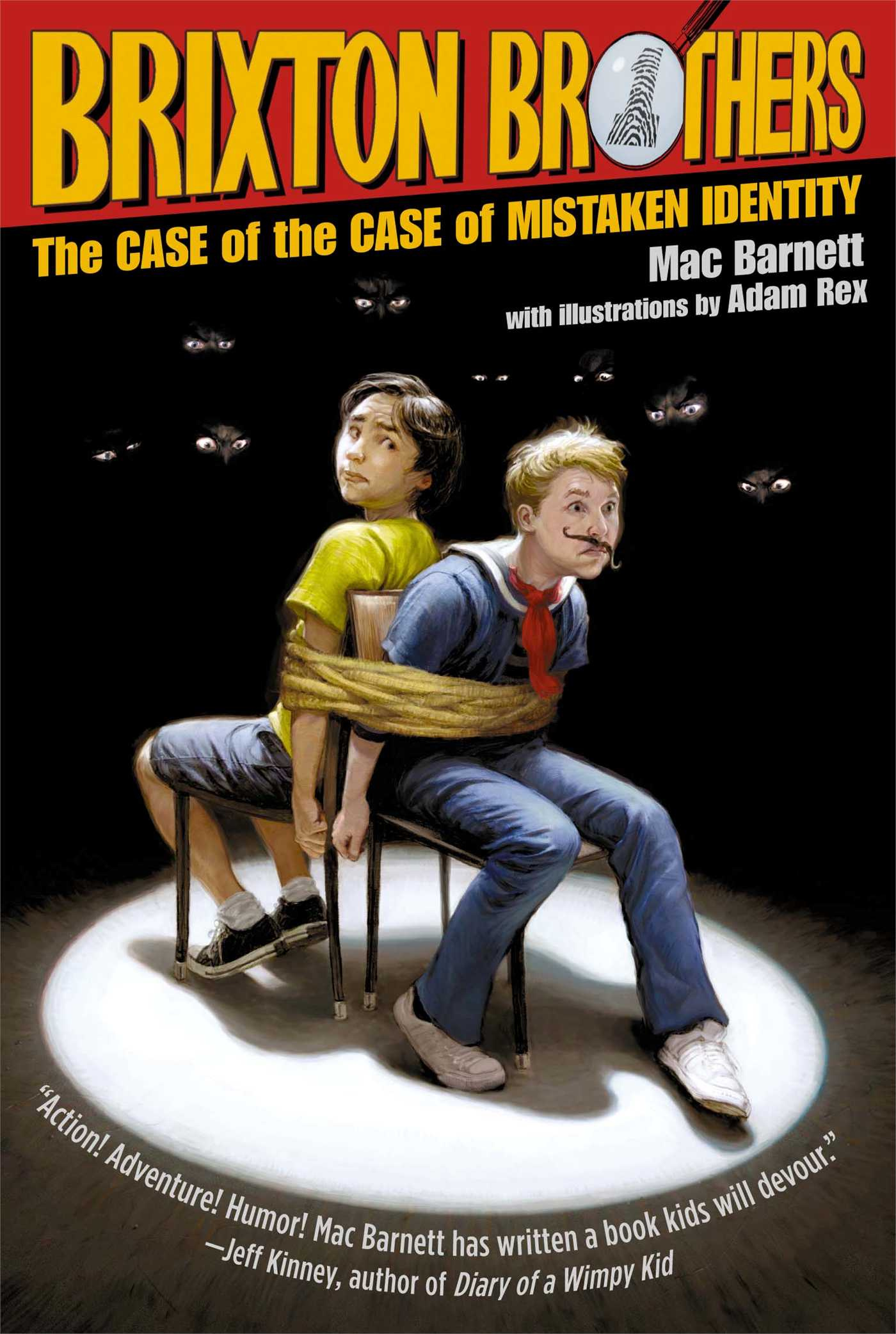 eyewitnesses and the case of mistaken identity The case of the case of mistaken identity, brixton brothers mistaken for a real private to solve this crazy caper of the case of the case of mistaken identity.