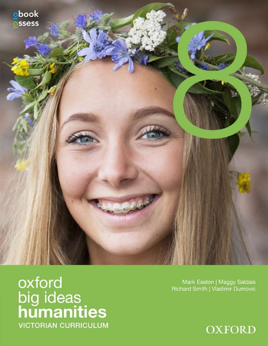 Oxford Big Ideas Humanities 8 Victorian Curriculum Student Book + Obook/Assess