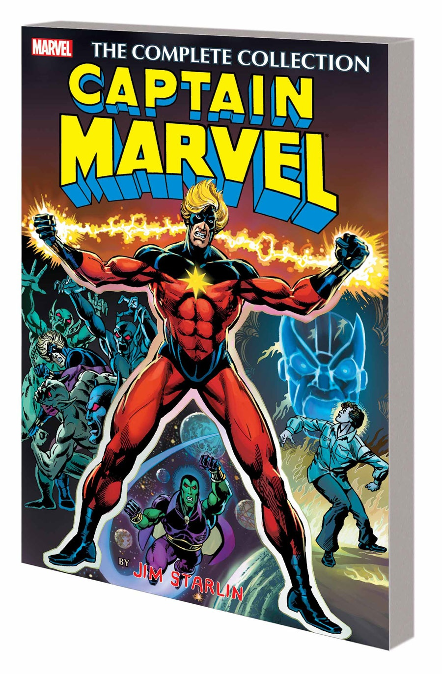 Captain Marvel by Jim Starlin: The Complete Collection by Jim Starlin, ISBN: 9781302900175