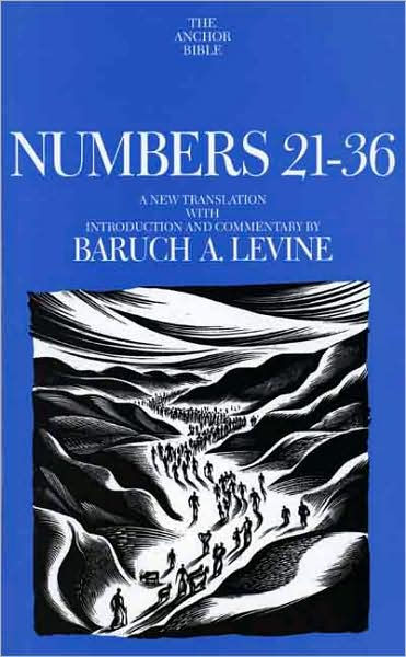Numbers 21-36 by Baruch A. Levine, ISBN: 9780300139426