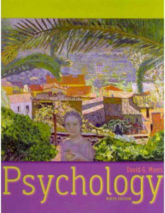 Psychology by University David G Myers, ISBN: 9781429239479