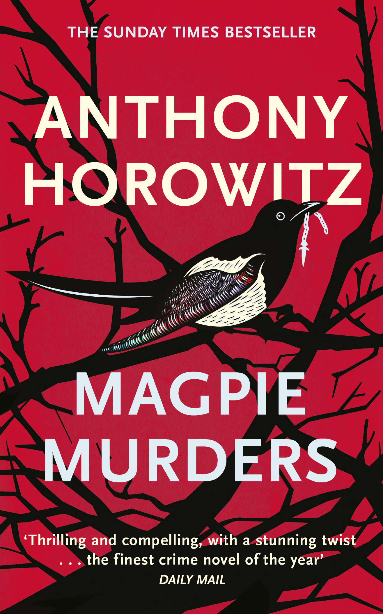 Magpie Murders: the Sunday Times bestseller crime thriller with a fiendish twist by Anthony Horowitz, ISBN: 9781409158387