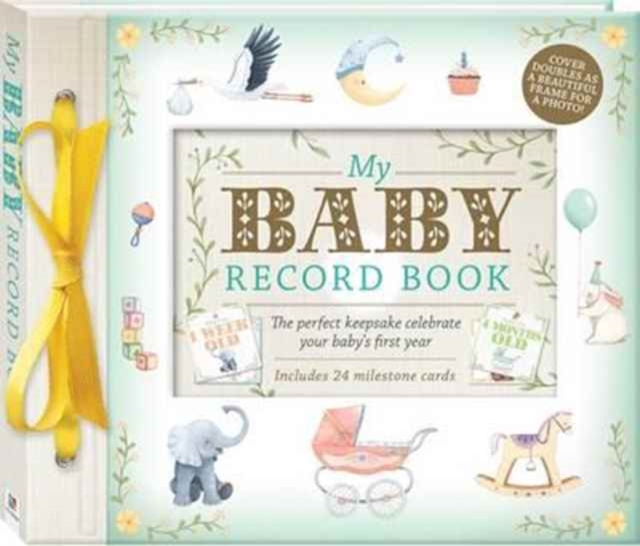 My Baby Record Book Deluxe by Hinkler, ISBN: 9781488903014