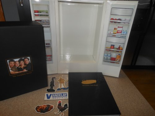Seinfeld - The Complete Series (Exclusive Limited Edition Refrigerator Replica Packaging, Exclusive Magnets, Official Coffee Table Book and Bonus Disc) by Unknown, ISBN: 0043396230095